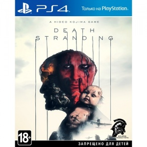 death stranding playstation 4 box art play-watch by